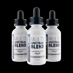 multi spectrum blend cbd liquid oil